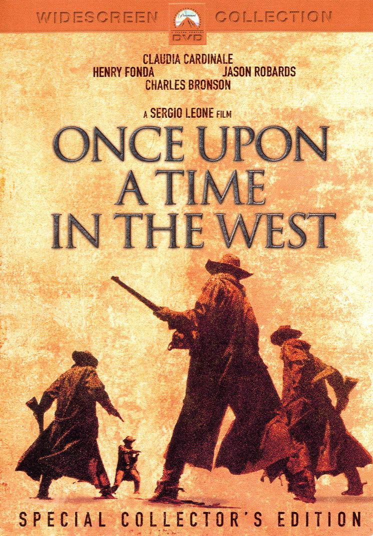 Once Upon A Time In The West Cover